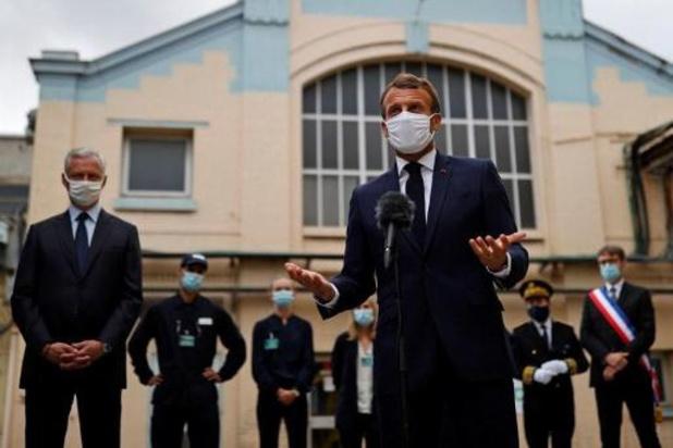 """Coronavirus - Macron noemt nieuwe sluitingen van Europese grenzen """"absurd"""" en """"contraproductief"""""""