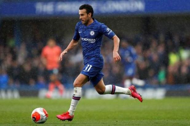 AS Roma haalt Pedro gratis op bij Chelsea