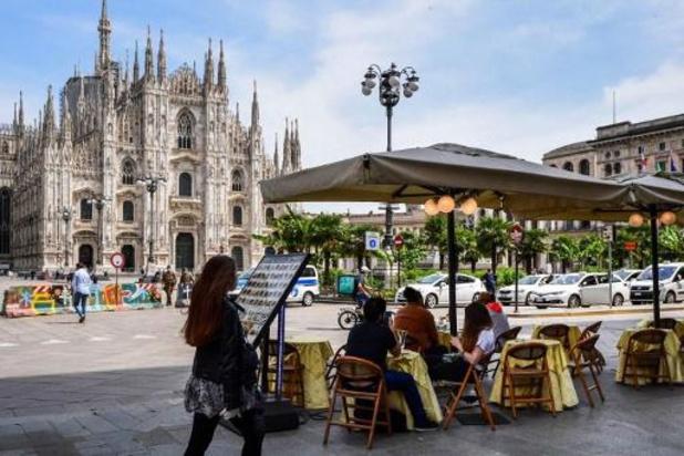Voor het eerst minder dan 100 nieuwe overlijdens op een dag in Italië