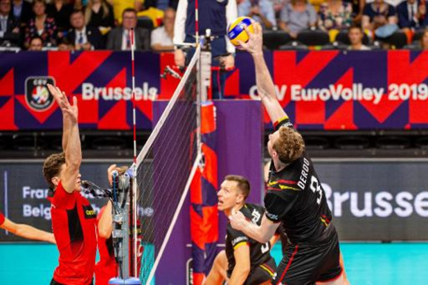 """Euro de volley (m) - """"Le tiebreak est probablement décisif pour le reste de notre tournoi"""""""