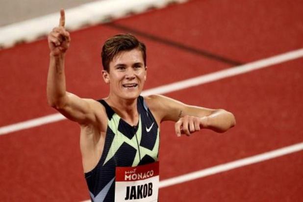 Jakob Ingebrigtsen vainqueur du 1500 m