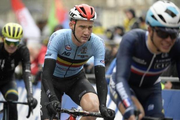 """Mondiaux de cyclisme - """"Nous nous attendions à plus"""", reconnaît Tim Wellens"""