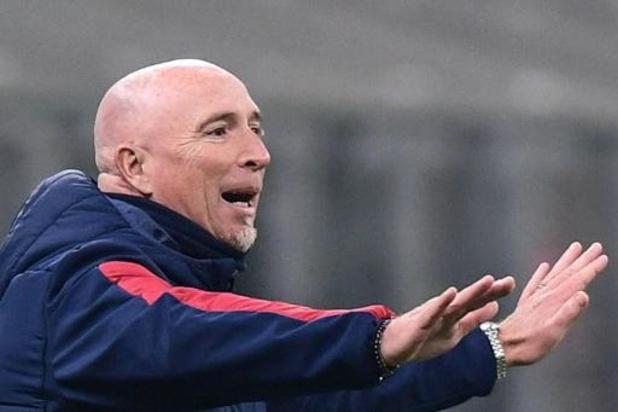 Serie A - Rolando Maran nouvel entraîneur du Genoa