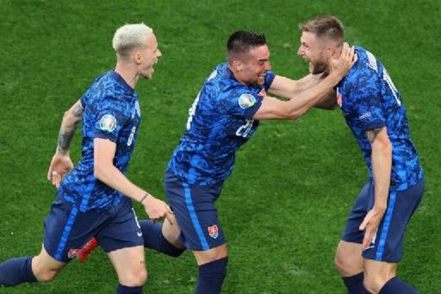 Euro 2020 - La Slovaquie surprend la Pologne 1-2 en ouverture du groupe E