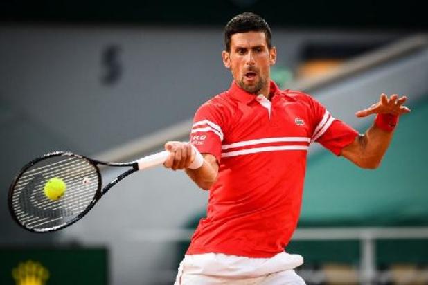 Roland Garros - Novak Djokovic neemt vlotte start