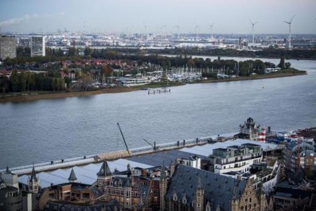 Vlaanderen en Antwerpen kiezen definitief voor fiets- en wandelbrug over Schelde