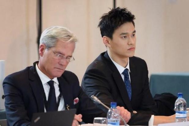 Sun Yang suspendu huit par le Tribunal Arbitral du Sport