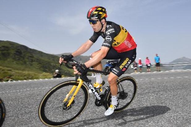 """Tour de France - Succès """"incroyable"""" pour Kuss qui arrivait chez lui, Van Aert """"très heureux"""" pour lui"""