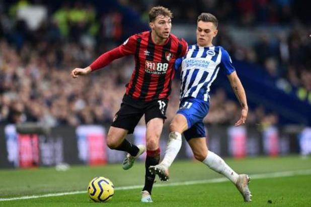 Trossard helpt Brighton met assist aan zege tegen Bournemouth