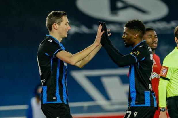 Le Club de Bruges récupère Vanaken, Lang, Denswil et Mitrovic