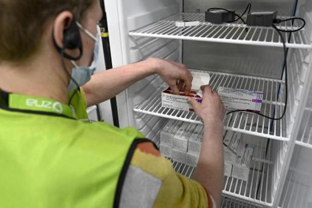 Plus de 5 millions de Belges ont au moins reçu une première dose