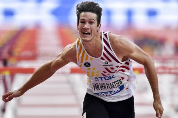 Thomas Van der Plaetsen 18e après le 110m haies la 6e manche du décathlon