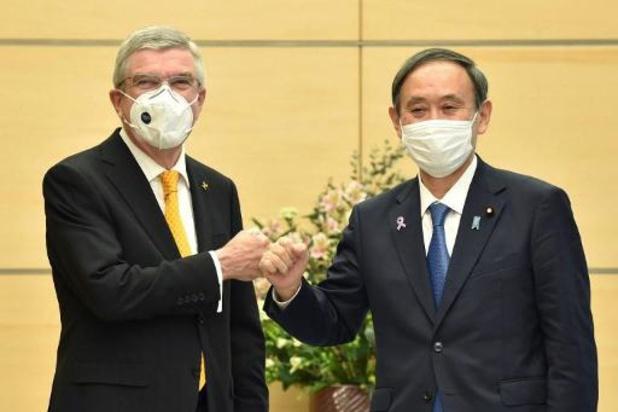 IOC-voorzitter is vol vertrouwen over aanwezigheid toeschouwers in Tokio
