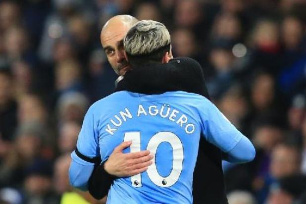 "Guardiola acht Agüero ""onvervangbaar"" bij Manchester City"