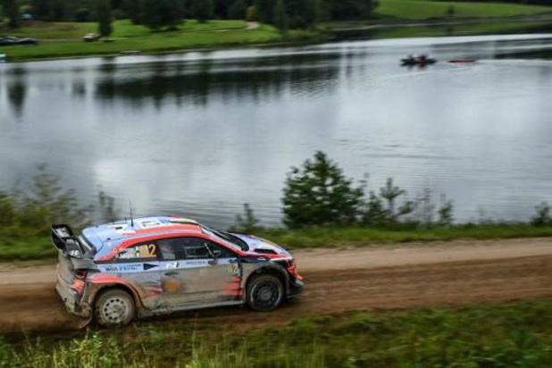 L'Irlandais Craig Breen (Hyundai) de WRC à Audenarde pour la 2e épreuve du calendrier
