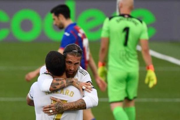 Belgen in het buitenland - Eden Hazard help Real aan zege tegen Eibar