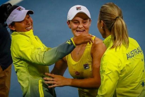 Fed Cup - Ashleigh Barty atout N.1 de l'Australie pour un premier titre depuis 1974
