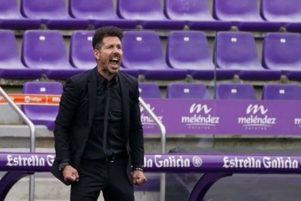 La Liga - Diego Simeone prolonge de deux ans avec l'Atlético Madrid