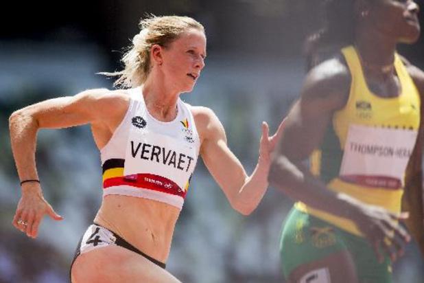 Imke Vervaet éliminée en demi-finale sur 200 m