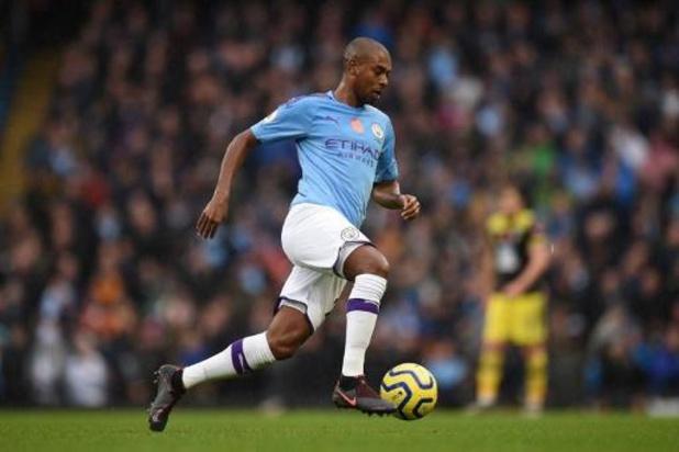 Fernandinho prolonge à Manchester City