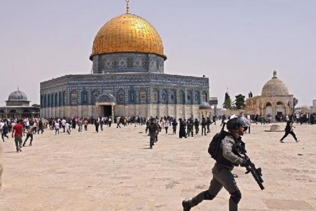 Jérusalem: heurts entre Palestiniens et police israélienne à l'esplanade des Mosquées