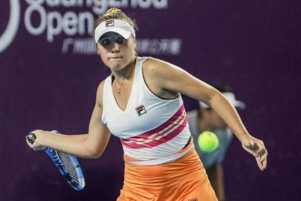 WTA Guangzhou - Sofia Kenin steekt titel op zak