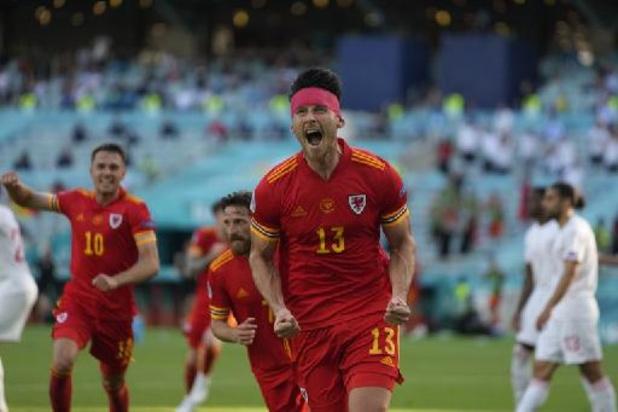 Zwitserland geeft zege uit handen tegen Wales