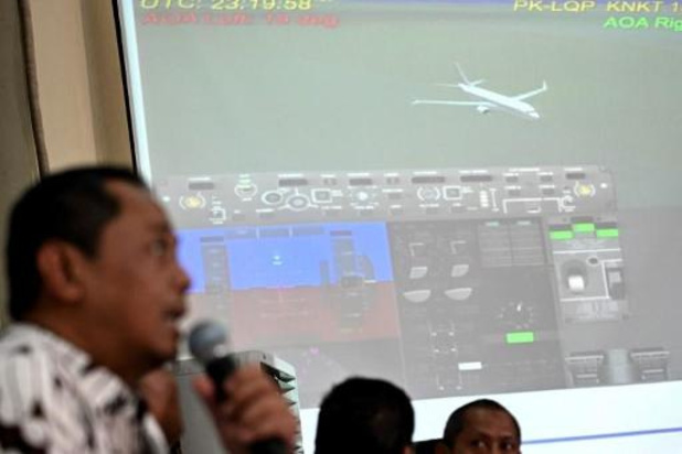 Le crash du Boeing de Lion Air lié à des défauts de conception et de certification