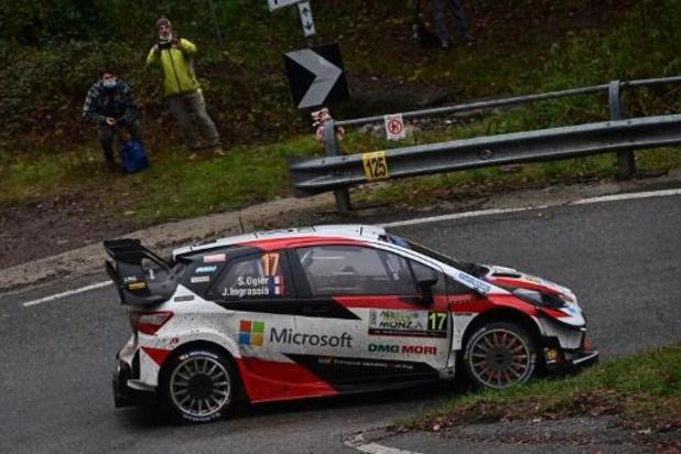 Rally van Monza - Sébastien Ogier als leider de slotdag in