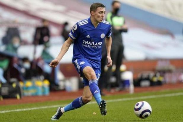 Leicester (avec Tielemans et Castagne) s'impose à Aston Villa et est seul deuxième