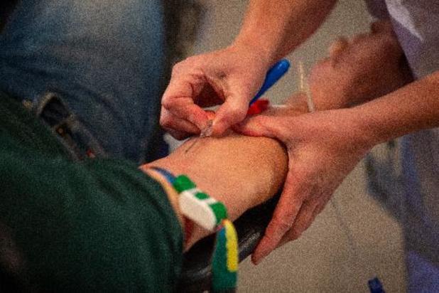 Bloedinzamelingen op unieke plaatsen om te lage bloedvoorraad aan te vullen