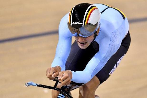 EK baanwielrennen voor beloften en junioren - Belofte Tuur Dens pakt zilveren medaille in de scratch