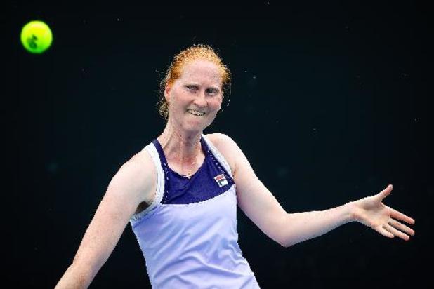 Alison Van Uytvanck staat in kwartfinales