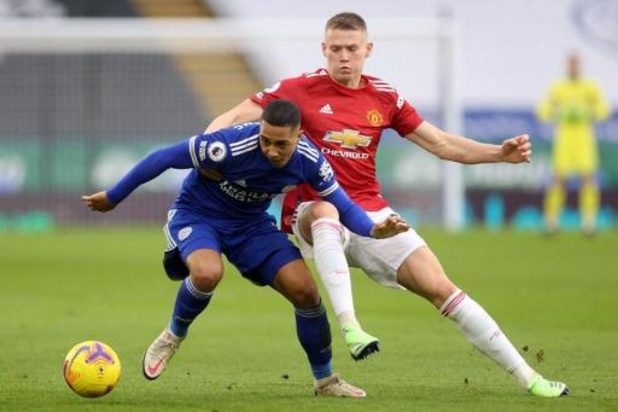 Leicester City en Manchester United delen de punten