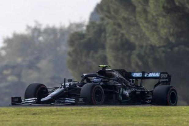 Bottas blijft Hamilton voor in Imola