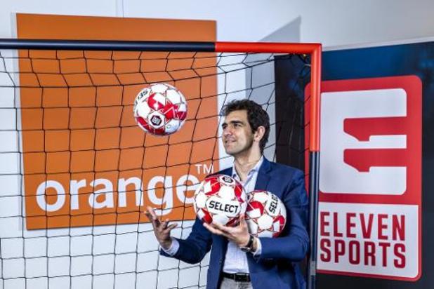 Orange, premier opérateur télécom à s'accorder avec Eleven pour diffuser le championnat