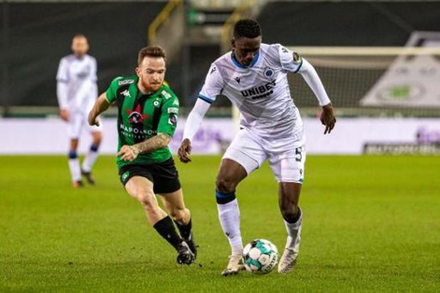 Jupiler Pro League - Le Club de Bruges remporte le derby contre le Cercle et conforte sa première place