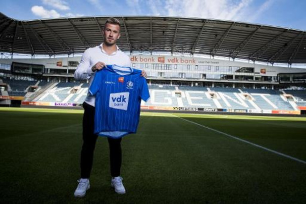 Niklas Dorsch tekent voor vier jaar AA Gent