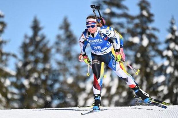 Davidova en or sur le 15km, Lotte Lie, 36e, prend ses premiers points en Coupe du monde de biathlon