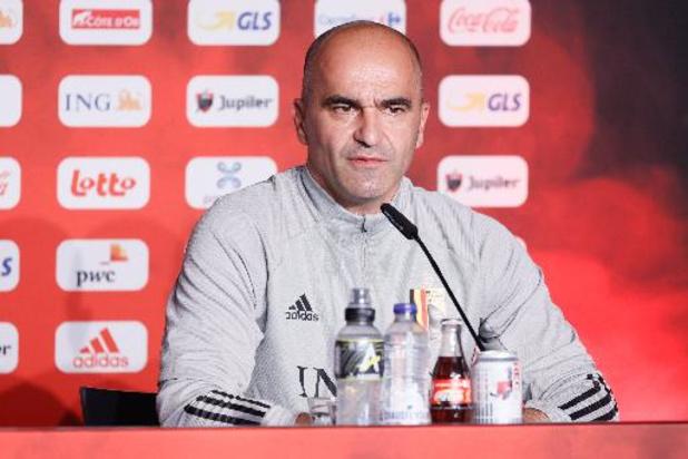 "Roberto Martinez : ""Petite inquiétude pour Nacer Chadli"""