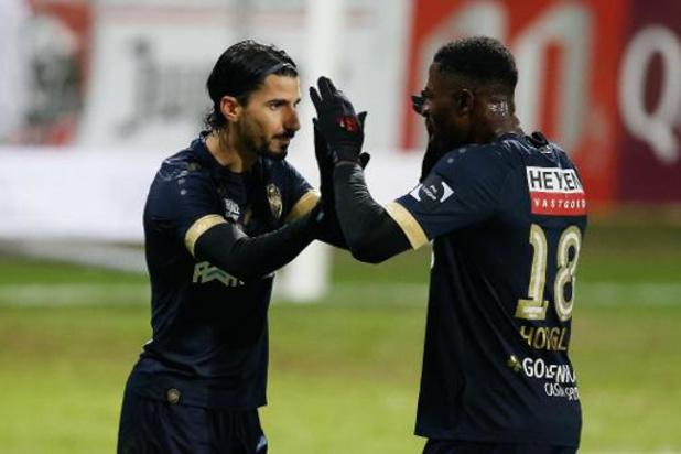 Antwerp voorlopig 2e na zege in Eupen, W.-Beveren verliest in extremis van KV Mechelen