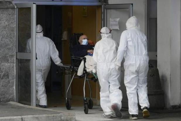 Record du nombre de morts enregistrés en 24h en Italie