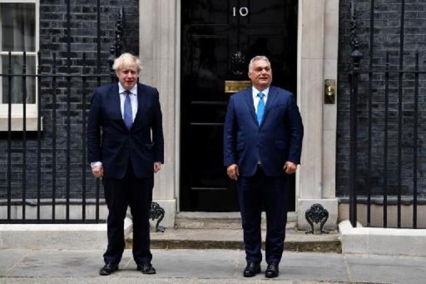 Viktor Orban reçu à Londres sur fond de controverse