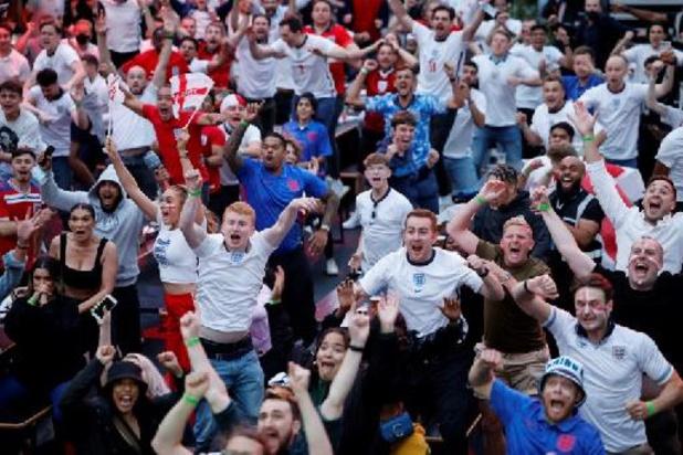 Euro 2020 - Covid-19: la police déconseille les rassemblements spontanés à Londres pour la finale