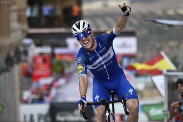 Rémi Cavagna enlève la 19e étape de la Vuelta