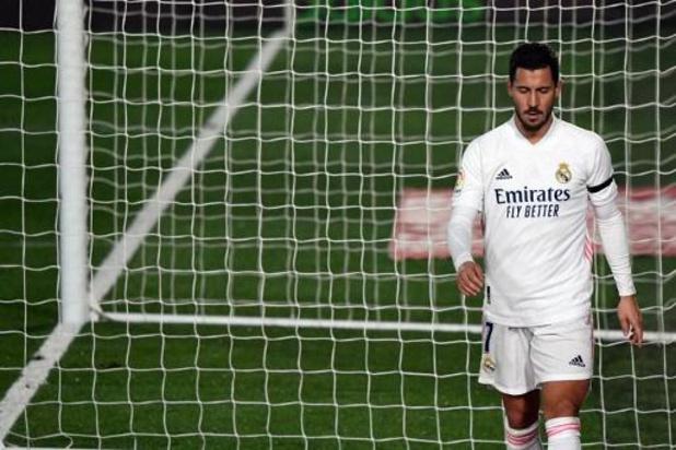 Pas d'Eden Hazard dans la sélection du Real pour le derby contre l'Atlético