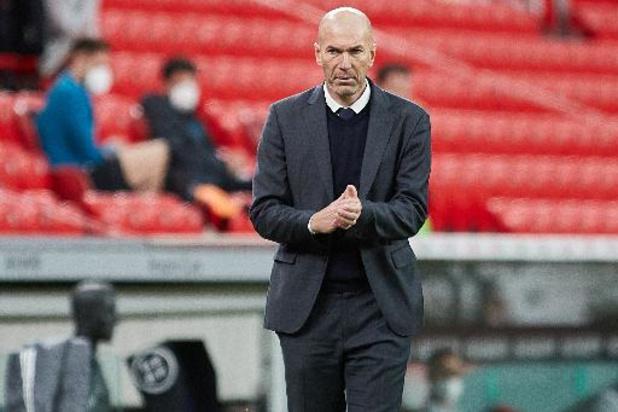 La Liga - Real Madrid: Zidane dément avoir annoncé son départ à ses joueurs