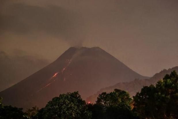 Indonesische vulkaan Merapi spuwt opnieuw lava