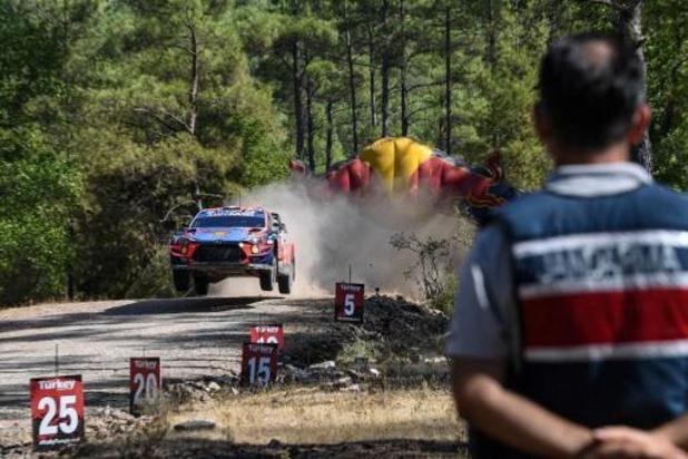 Neuville snelste tijdens shakedown Rally van Turkije