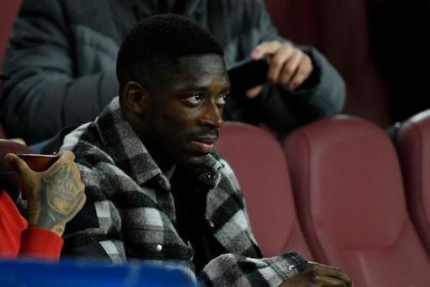Scheur in de hamstrings bij FC Barcelona-winger Ousmane Dembélé